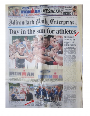 Day in the sun for athletes