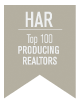 HAR Top 100 Producing Realtors